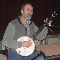 Tom banjo at Park School
