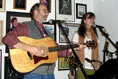 Tom and Mally at Savoury Lane