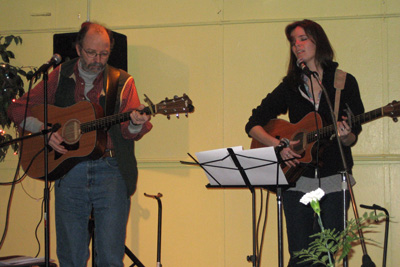 Tom and Mally at Federated Coffeehouse